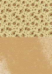 A4 Vel Nellie's Background Neva003 Brown roses