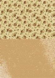 A4 Vel Nellie's Background Neva003 Brown roses