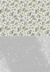 A4 Vel Nellie's Background Neva018 Black roses