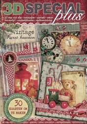 3D Special Plus Boek 50 Vintage Kerst kaarten