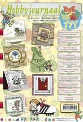 Hobbyjournaal 111 + knipvel Yvonne CD10372 Opkikker