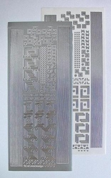 LeCreaDesign® Sticker 613140 hoekjes/randjes