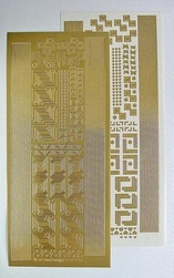 LeCreaDesign® Sticker 613157 hoekjes/randjes