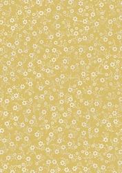 cArt-Us Satin karton folie beige/goud bloemen