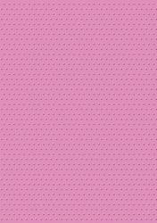cArt-UsKarton embossed CC Swiss dots fel roze
