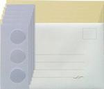 Leane Creatief Kaarten set Tri-O kaarten 306585 geel/lila