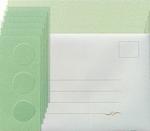 Leane Creatief Kaarten set Tri-O kaarten 306578 groen/d groe