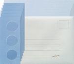 Leane Creatief Kaarten set Tri-O kaarten 306561 blauw/d bleu