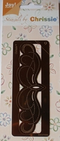 Chrissie Borduurstencil 6001-1009 Rand