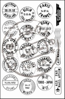MD Clear stamps CS0879 Mail around the world