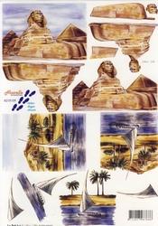 A4 Knipvel Le Suh 8215109 Egypte Sfinx