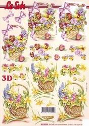 A4 Knipvel Le Suh 8215225 Mand met violen