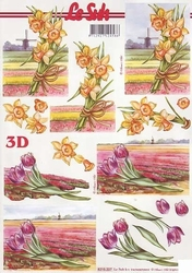 A4 Knipvel Le Suh 8215227 Narcissen/tulpen