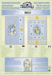 Leane Creatief Kantsticker kit 516417 algemeen/feest