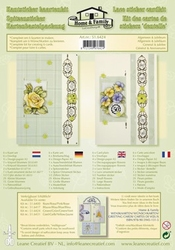 Leane Creatief Kantsticker kit 516424 algemeen/jubileum