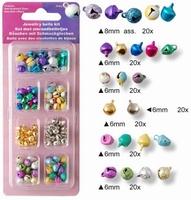 Jewelry sieraadbelletjes assorti colours