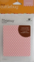 Cuttlebug Embossing stencils 37-1604 Swiss dots