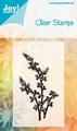 Joy Clear stamps Noor 6410-0017 Bloem/Bladeren
