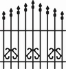Cheery Lynn B196 Ornamental Gate