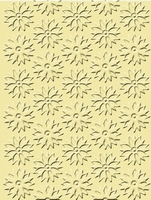 Craft Concepts Embossing folder CR900037 Spring flowers