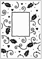 Crafts Too embossing folder CTFD3034 Hulst rand