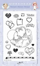 Clear stamps Morehaed Joy for you 97-0403 Valentino