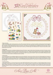 3D Borduur/knipvel Ann Paper Art 3015 Baby Frame