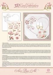 3D Borduur/knipvel Ann Paper Art 3017 Heart