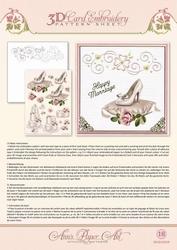 Ann's Paper Art 3D Borduurknipvel 3DCE2018 Wedding