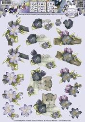 3D Knipvel Precious Marieke CD10378 Bloemdecoratie
