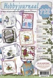 Hobbyjournaal 112 + knipvel Marieke CD10378