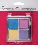 Papermania Shimmer Chalks 7621000 Pastels