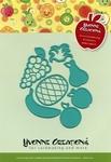 Yvonne's Cut & Emboss Die 10020 Opkikker Fruit