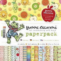 Paperpack Yvonne Creations CDPP10007 Opkikker