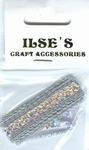 Ilse's Paillettenband zilver