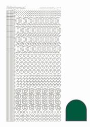 Stickervel Hobbydots Adhesive STDA172 Green