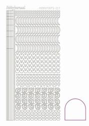 Stickervel Hobbydots Adhesive STDA170 White/wit