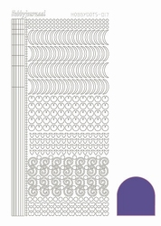 Stickervel Hobbydots Mirror STDM176 Violet