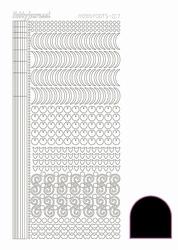Stickervel Hobbydots Adhesive STDA173 Black