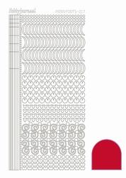 Stickervel Hobbydots Adhesive STDA174 Red