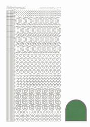 Stickervel Hobbydots Mirror STDM172 Green