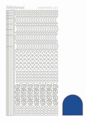 Stickervel Hobbydots Mirror STDM17A Bleu