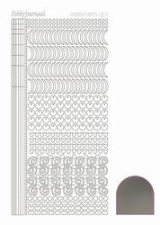 Stickervel Hobbydots Mirror STDM178 Zilver