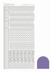 Stickervel Hobbydots Mirror STDM179 Purple