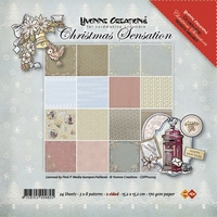 Paperpack Yvonne Creations CDPP10005 Christmas Sensation