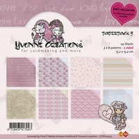 Paperpack Yvonne Creations CDPP10003 Love 5