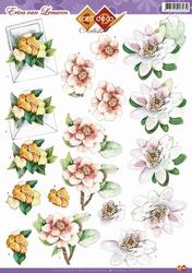 3D Knipvel Erica van Leeuwen CD10373 Bloemen