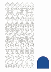 Stickervel Charms Mirror STCH01A Blue