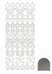 Stickervel Charms Mirror STCH018 Silver