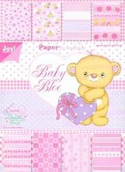 Joy! A5 Paperbloc 6011-0040 Baby rose